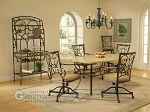 Brookside 5-Piece Table Set (Table + 4 chairs) - Item: 2701