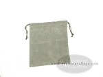 Budget Gray Felt Dice Bag - (4 in. x 5 in.) - Item: 1771