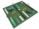 picture of Dal Negro Backgammon Set - Green Cialux (2 of 10)