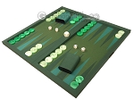 picture of Dal Negro Backgammon Set - Green Cialux (3 of 10)