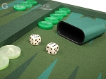 picture of Dal Negro Backgammon Set - Green Cialux (7 of 10)