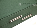 picture of Dal Negro Backgammon Set - Green Cialux (10 of 10)