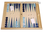 Dal Negro Wood Tabletop Backgammon Set - Atene - Item: 3102