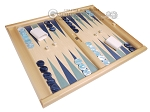 picture of Dal Negro Wood Tabletop Backgammon Set - Atene (2 of 10)