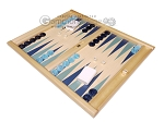 picture of Dal Negro Wood Tabletop Backgammon Set - Atene (3 of 10)