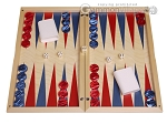 Dal Negro Wood Backgammon Set - Itaca - Item: 3104