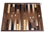 Dal Negro Wood Backgammon Set - London - Item: 3098