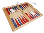 picture of Dal Negro Wood Tabletop Backgammon Set - Skiathos (2 of 10)