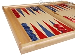 Dal Negro Wood Tabletop Backgammon Set - Skiathos