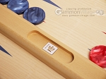 picture of Dal Negro Wood Tabletop Backgammon Set - Skiathos (8 of 10)