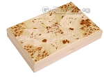 picture of Double 9 Venetian Dominoes in Poplar Root Wood Box (2 of 7)