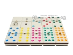 picture of Double 9 Venetian Dominoes in Poplar Root Wood Box (5 of 7)