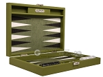 picture of Hector Saxe Epi Leatherette Travel Backgammon Set - Green (11 of 12)