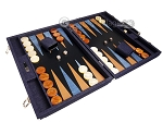 picture of Hector Saxe Denim Backgammon Set - Dark Blue (2 of 12)