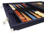 picture of Hector Saxe Denim Backgammon Set - Dark Blue (5 of 12)