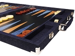 picture of Hector Saxe Denim Backgammon Set - Dark Blue (6 of 12)