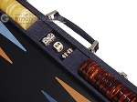 picture of Hector Saxe Denim Backgammon Set - Dark Blue (7 of 12)