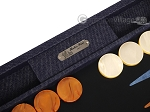 picture of Hector Saxe Denim Backgammon Set - Dark Blue (9 of 12)
