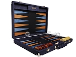 picture of Hector Saxe Denim Backgammon Set - Dark Blue (10 of 12)