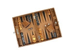 picture of Hector Saxe Arizona Leather Travel Backgammon Set - Cognac (2 of 6)