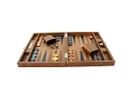 picture of Hector Saxe Arizona Leather Travel Backgammon Set - Cognac (3 of 6)