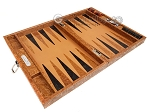 picture of Hector Saxe Arizona Leather Travel Backgammon Set - Cognac (10 of 12)