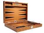 picture of Hector Saxe Arizona Leather Travel Backgammon Set - Cognac (11 of 12)