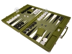 picture of Hector Saxe Epi Leatherette Backgammon Set - Green (3 of 12)