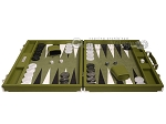 picture of Hector Saxe Epi Leatherette Backgammon Set - Green (4 of 12)