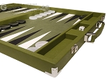 picture of Hector Saxe Epi Leatherette Backgammon Set - Green (6 of 12)