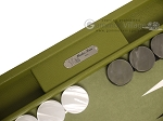 picture of Hector Saxe Epi Leatherette Backgammon Set - Green (9 of 12)
