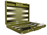 picture of Hector Saxe Epi Leatherette Backgammon Set - Green (10 of 12)