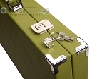 picture of Hector Saxe Epi Leatherette Backgammon Set - Green (12 of 12)