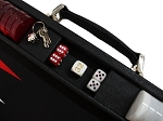 picture of Hector Saxe Epi Leatherette Backgammon Set - Black (3 of 6)