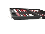 picture of Hector Saxe Epi Leatherette Backgammon Set - Black (5 of 6)