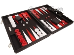 picture of Hector Saxe Epi Leatherette Backgammon Set - Black (2 of 12)