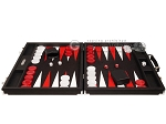 picture of Hector Saxe Epi Leatherette Backgammon Set - Black (4 of 12)