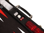 picture of Hector Saxe Epi Leatherette Backgammon Set - Black (7 of 12)