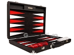 picture of Hector Saxe Epi Leatherette Backgammon Set - Black (10 of 12)