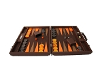 picture of Hector Saxe Epi Leatherette Backgammon Set - Brown (4 of 6)