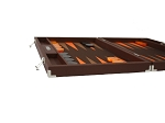 picture of Hector Saxe Epi Leatherette Backgammon Set - Brown (5 of 6)