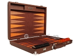 picture of Hector Saxe Epi Leatherette Backgammon Set - Brown (10 of 12)