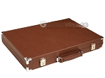 picture of Hector Saxe Epi Leatherette Backgammon Set - Brown (11 of 12)