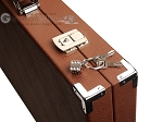 picture of Hector Saxe Epi Leatherette Backgammon Set - Brown (12 of 12)