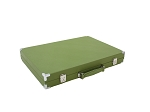 picture of Hector Saxe Epi Leatherette Backgammon Set - Green (6 of 6)