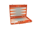 picture of Hector Saxe Epi Leatherette Backgammon Set - Orange (1 of 6)