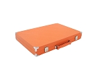 picture of Hector Saxe Epi Leatherette Backgammon Set - Orange (6 of 6)