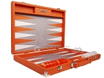picture of Hector Saxe Epi Leatherette Backgammon Set - Orange (10 of 12)