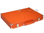 picture of Hector Saxe Epi Leatherette Backgammon Set - Orange (11 of 12)