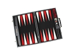 picture of Hector Saxe Cosmos Linen Backgammon Set - Black (2 of 6)